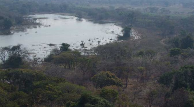 Aerial View lake